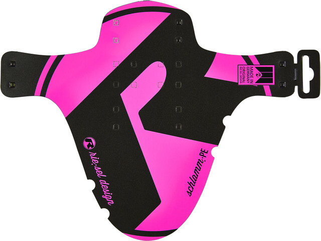 "rie:sel design schlamm:PE Front Mudguard 26-29"" pink"